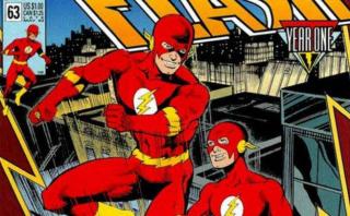 """W pierwszym odcinku Elseworlds słyszymy o """"Waidzie i Augustynie"""" - Mark Waid i Brian Augustyn to znani twórcy komiksów; dali się poznać m.in. z wkładu w mitologię postaci Flasha"""