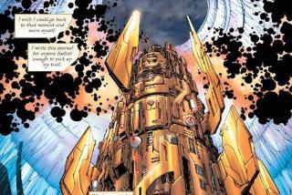 Urządzenie, które otwiera wyłom, z którego wychodzi Barry Allen z Ziemi-90, do złudzenia przypomina to, które widzieliśmy w komiksach Kryzys na nieskończonych Ziemiach i Nieskończony Kryzys