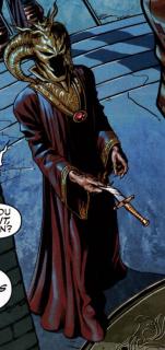 Zheng Zu aka Fu Manchu - złoczyńca i mafijny boss; to jego synem jest Shang-Chi