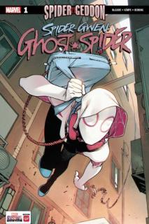 5. Spider-Gwen Ghost-Spider #1 (Marvel) - 88 923 sprzedane kopie