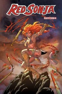 6. Dynamite Entertainment - 2,06% w liczbie sprzedanych komiksów i 2,37% udziału w zyskach