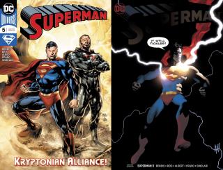 20. Superman #5 - 54 727 sprzedanych kopii