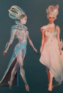 Aquaman - szkic koncepcyjny
