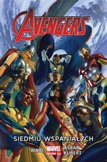 Avengers – Siedmiu wspaniałych, tom 1 – okładka