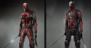 Deadpool - szkic do pierwszego filmu (gorszy)