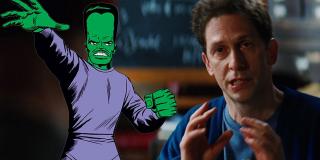 """Leader (Samuel Sterns) - jego DNA mogło ulec zmianie po zetknięciu się z krwią Bruce'a Bannera w filmie """"Incredible Hulk"""""""