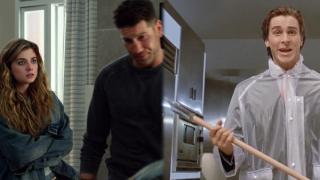 """Wystrój mieszkania Madani był stylizowany na mieszkanie Patricka Batemana z filmu """"American Psycho"""""""