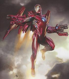 Iron Man - Avengers: Wojna bez granic (lepszy)