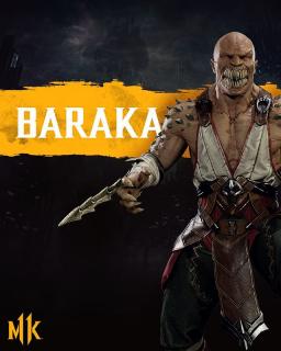 Mortal Kombat 11 - Baraka