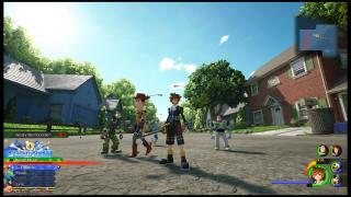 Kingdom Hearts III - screeny z gry