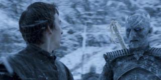 Bran dzięki mocy Trójokiej Wrony kontroluje działania Nocnego Króla