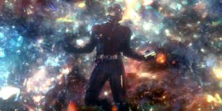Ant-Man i Osa - scena #1; wymazanie postaci, Ant-Man zostaje w Wymiarze Kwantowym