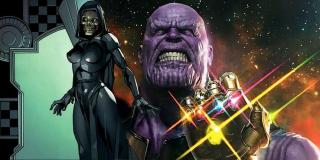 """Śmierć lub inny obiekt westchnień Thanosa pojawi się w filmie """"Koniec gry"""""""