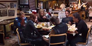 Avengers - scena #2; Mściciele jedzą szawarmę