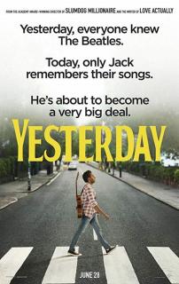 Yesterday - plakat
