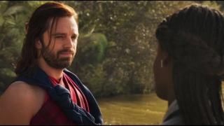 Czarna Pantera - scena #2; Bucky w Wakandzie