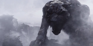 Kapitan Ameryka: Wojna bohaterów - scena #1; Wakanda wyłania się z mgły