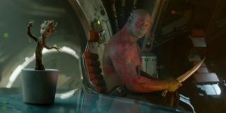 Strażnicy Galaktyki - scena #1; tańczący Baby Groot