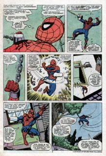 Spider-Man sądzi, że tonie w basenie, w którym w rzeczywistości nie znajduje się woda