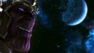 Avengers - scena #1; uśmiech Thanosa