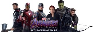 Avengers Koniec gry - baner promocyjny