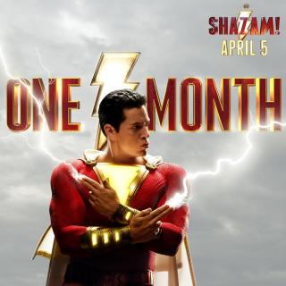 Shazam! - plakat
