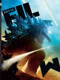 Godzilla 2 Król potworów - okładka Total Film