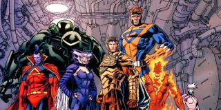 Skrulle rywalizują nie tylko z Kree, ale również z inną międzygalaktyczną potęgą – Imperium Shi'ar. Ich przedstawiciel pojawił się nawet w trakcie procesu Jean Grey w serii Dark Phoenix Saga. W innym momencie członkowie rasy najechali na stację kosmiczną Shi'ar.