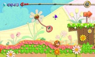 Kirby's Extra Epic Yarn - screeny z gry