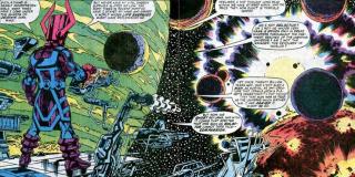 Skrulle pierwotnie zamieszkiwali planetę Skrullos, by potem przenieść się na Tarnax IV – to ta lokacja stała się ich stolicą. Problem polega na tym, że… zjadł ją Galactus i to nawet pomimo faktu, iż Skrulle chciały ją ukryć za całą poświatą galaktyki.