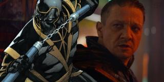 """Zabijający kolejnych złoczyńców Hawkeye zamienił się w znanego z komiksów Ronina – postać ta dołączyła do New Avengers po wydarzeniach ukazanych w serii """"Wojna domowa"""". Na tym polu nie mamy do czynienia nawet tyle z luźną inspiracją, co z wierną adaptacją komiksowego wątku."""