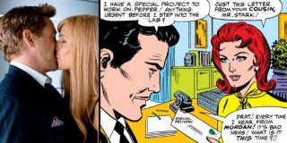 Córka Tony'ego i Pepper ma na imię Morgan, podobnie jak ekscentryczny wujek Potts. W komiksach pojawiał się także Morgan Stark, kuzyn Tony'ego, który do tego stopnia pozazdrościł mu heroicznej historii, że przeobraził się w złoczyńcę znanego jako Ultimo.