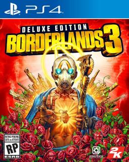 Borderlands 3 - okładka edycji Deluxe