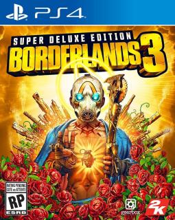 Borderlands 3 - okładka edycji Super Deluxe