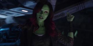 Gamora posiada czynnik leczniczy, który pozwala jej w ekspresowym tempie dojść do pełni sił