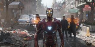 Iron Man jest technopatą - potrafi komunikować się z dowolnym urządzeniem, choćby zawieszonymi na orbicie satelitami