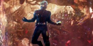 Ant-Man jest zdolny wejść w ciało przeciwnika i rozsadzić go od środka