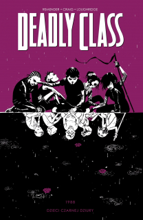 Deadly Class, tom 2 - okładka