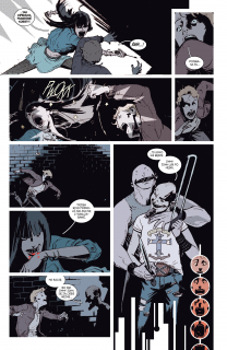 Deadly Class. tom 2 - plansza