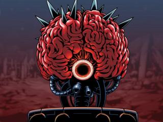 Mother Brain - powracający boss z serii Metroid, sztuczna inteligencja dysponująca niszczycielskimi atakami i kontrolująca całą armie Kosmicznych Piratów.
