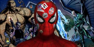"""Film wprowadzi do MCU drużynę złoczyńców znaną jako Sinister Six - to właśnie zarysowaniu powstania tej grupy miała służyć scena ukazująca spotkanie Vulture'a i Skorpiona w więzieniu w produkcji """"Spider-Man: Homecoming""""."""