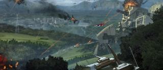 Kryształ z serii Raiden to nietypowy przeciwnik - lądują na planecie i przejmują kontrolę nad całym dostępnym tam uzbrojeniem.