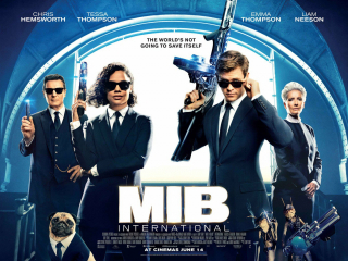 Men In Black International - plakat