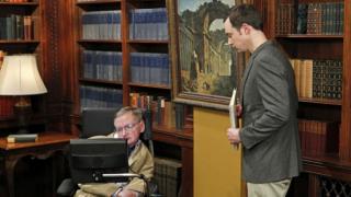 Stephen Hawking jako on sam