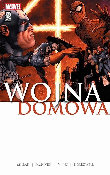 Wojna domowa - okładka komiksu