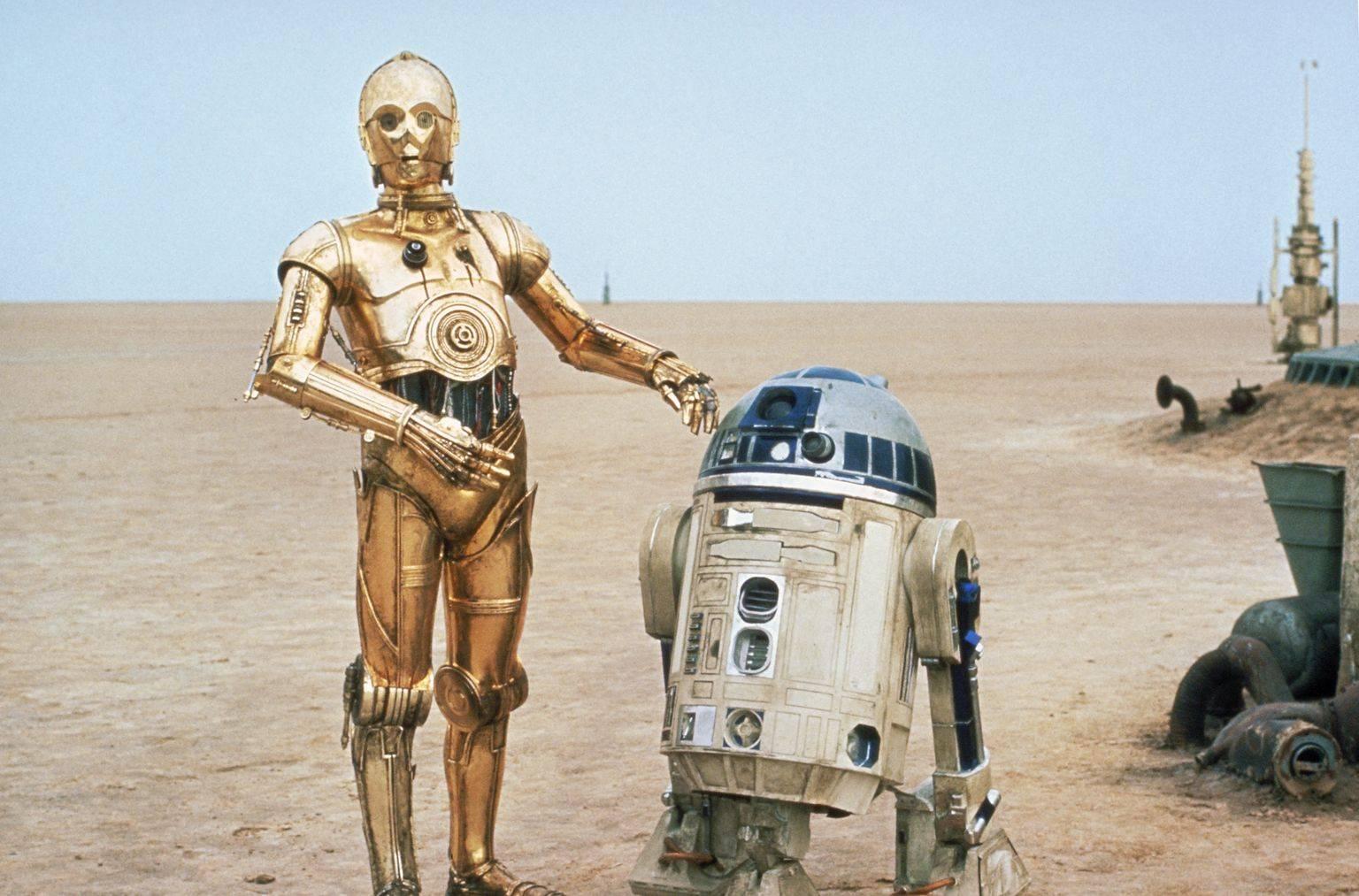 C-3PO I R2-D2 - Gwiezdne Wojny