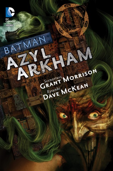 Batman Azyl Arkham okładka