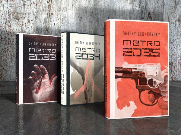 trylogia metro 2033 Dmitry Glukhovsky trylogia okładki
