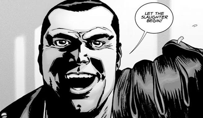Jeffrey Dean Morgan jako Negan w The Walking Dead!