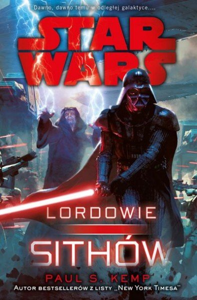 star wars. lordowie sithów - okładka